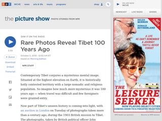 Tibet vor 100 Jahren - historische Fotos