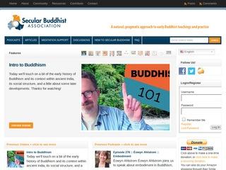 Secular Buddhist Association - USA